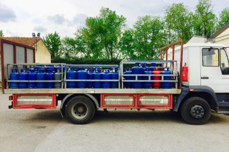 Trasporto specializzato gas GPL in cisterna